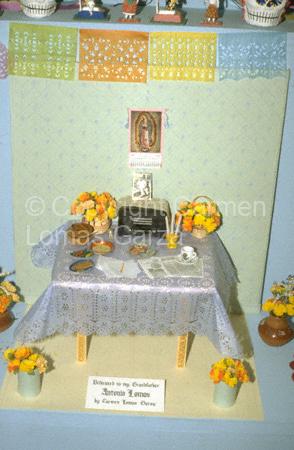 Dia de los Muertos / Ofrenda para Antonio Lomas (offering to Antonio Lomas)