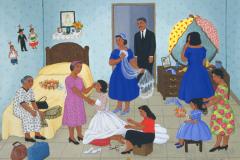 The Blessing on Wedding Day/La Bendición en el Día de la Boda