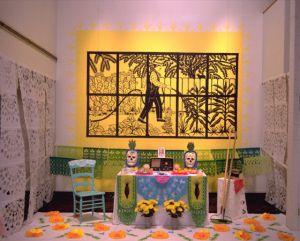 <h5>Dia de los Muertos / Ofrenda para Antonio Lomas (offering to Antonio Lomas)</h5>